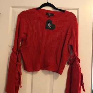 NWT Bell sleeve sweater